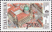 [International Stamp Exhibition PRAGA 2008, type SF]