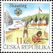 [EUROPA Stamps - The 100th Anniversary of Scouting, type SO]