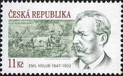 [The 160th Anniversary of the Birth of Emil Holub(1847-1902), type TB]