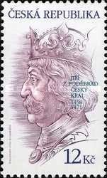 [The 550th Anniversary of Election of the King Jiri z Podebrad, type TS]