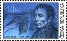 [The 200th Anniversary of the Birth of Louis Braille(1809-1852), type VE]