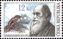 [The 200th Anniversary of the Birth of Charles Darwin(1809-1882), type VF]