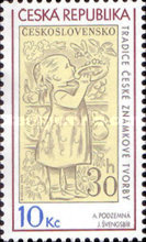 [The Tradition of Czech Stamp Printing, type VG]