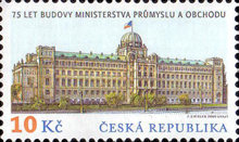 [The 75th Anniversary of the Building of the Czech Ministry of Industry and Trade, type VN]