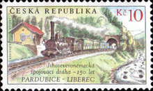 [The 150th Anniversary of the Former Pardubice-Liberec South-North German Junction Line, type VO]