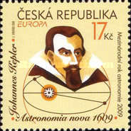 [EUROPA Stamps - Astronomy - The 400th Anniversary of the Keplers Laws, type VP]