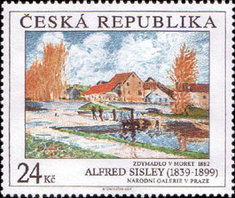 [Art on Stamps, type WI]