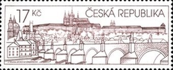 [Prague Castle in the Art of the Postage Stamp, type WW]