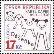 [EUROPA Stamps - Children's Books, type WX]