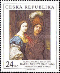 [Works of Art on Stamps, type YC]