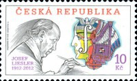 [The Tradition of Czech Stamp Production - The 100th Anniversary of the Birth of Josef Liesler, 1912-2005, type ZW]