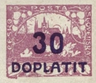 [Postage Stamps Overprinted  in Violet Blue & Surcharged, Typ C1]