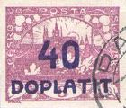 [Postage Stamps Overprinted  in Violet Blue & Surcharged, Typ C2]