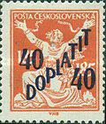 [Postage Stamps of 1920 Overprinted & Surcharged, Typ J]