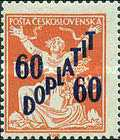 [Postage Stamps of 1920 Overprinted & Surcharged, Typ J3]