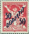 [Postage Stamps of 1970 Overprinted & Surcharged, Typ K]