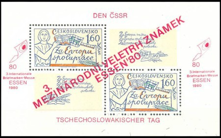 [Essen '80 International Stamp Exhibition, Typ ]