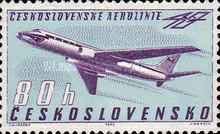 [The 40th Anniversary of Czech Airlines, Typ AFT]