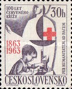 [The 100th Anniversary of the International Red Cross, Typ AFZ]