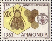 [The 19th International Bee-keepers' Congress, Apimondia '63, Typ AGA]