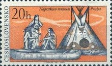 [North American Indians -  The 100th Anniversary of the Naprstek's Ethnographic Museum, Prague, Typ AOJ]