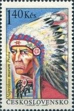 [North American Indians -  The 100th Anniversary of the Naprstek's Ethnographic Museum, Prague, Typ AOP]