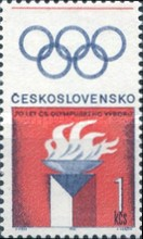 [The 70th Anniversary of Olympic Committee, Typ AOX]