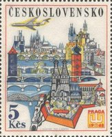 [Airmail - PRAGA 1968 International Stamp Exhibition, Typ ASU]