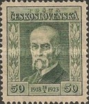 [The 5th Anniversary of the Republic - President Masaryk, type AV]