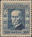 [The 5th Anniversary of the Republic - President Masaryk, type AV2]