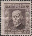 [The 5th Anniversary of the Republic - President Masaryk, type AV3]
