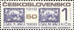 [Stamp Day and 50th Anniversary of 1st Czech Stamps, Typ AWW]
