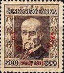 [Congress of Sokols, President Masaryk - No.208-211 Overprinted - Sold at Double Face Value, type AY3]