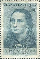 [The 130th Anniversary of the Birth of Bozena Nemcova (Authoress), type BP]