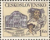 [The 60th Anniversary of Slovak National Theatre, Bratislava, type BXZ]