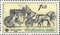 [Historic Coaches in Postal Museum, Typ BZQ]