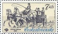 [Historic Coaches in Postal Museum, Typ BZT]