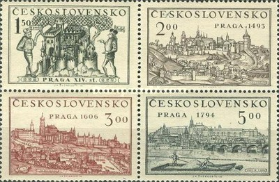 [National Stamp Exhibition - Prague, Typ CC]