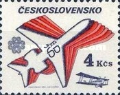 [World Communications Year and 60th Anniversary of Czechoslovak Airlines, Typ CEQ]