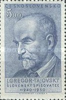 [The 10th Anniversary of the Death of J. Gregor Tajovsky (Writer), Typ CG]