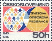 [The 40th Anniversary of World Federation of Trade Unions, Typ CIH]