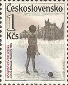 [The 45th Anniversary of Destruction of Lidice and Lezaky, Typ CLW]