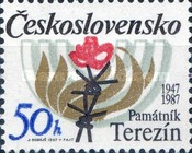 [The 40th Anniversary of Terezin Memorial, Typ CME]