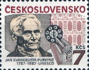 [The 200th anniversary of Jan Evangelista Purkyne, Physiologist, Typ CMG]
