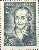 [The 100th Anniversary of the Death of Celakovsky, Poet, type GS]