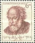 [The 100th Anniversary of the Birth of Mikulas Ales, Painter, type GU]