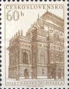 [The 70th Anniversary of National Theatre, Prague, Typ JU]