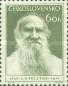 [The 125th Anniversary of the Birth of Leo Tolstoy, Writer, Typ KA]