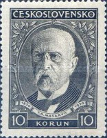 [The 80th Anniversary of the Birth of President Thomas G. Masaryk, Typ YBO3]