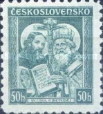 [The 1050th Anniversary of Death of St. Methodios(815-885), Typ YCN]
